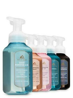 Bath & Body Works Set of 5 Color Colour Run Gentle Hand Foaming Soap *WOW*