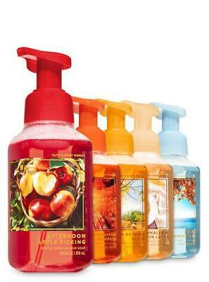 Bath & Body Works Set of 5 Fall Traditions Gentle Hand Foaming Soap *WOW*