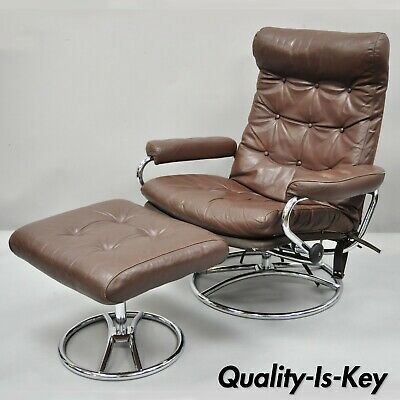 Astounding Vintage Scandinavian Ekornes Stressless Leather Rosewood Caraccident5 Cool Chair Designs And Ideas Caraccident5Info