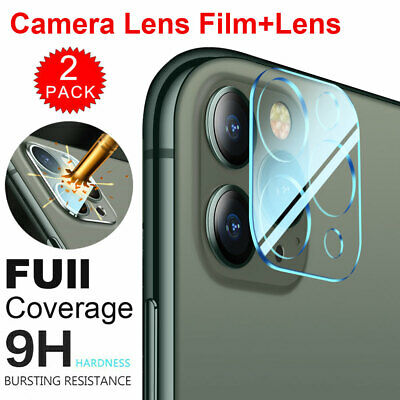 FULL COVER Tempered Glass Camera Lens Screen Protector Film For iPhone 11Pro Max