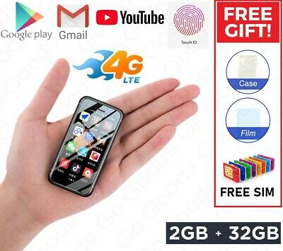 Melrose S9 Plus 32GB 2GB RAM Touch ID Worlds Smallest 4G LTE Android Smartphone