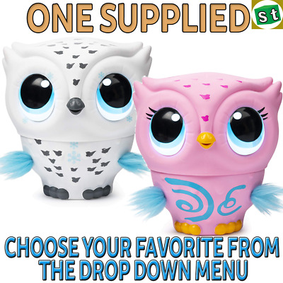 Owleez Flying Baby Owl Interactive Toy - ONE COLOUR SUPPLIED YOU CHOOSE