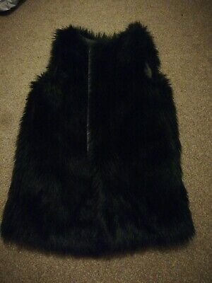Next Girls Faux Fur Gilet Age 8