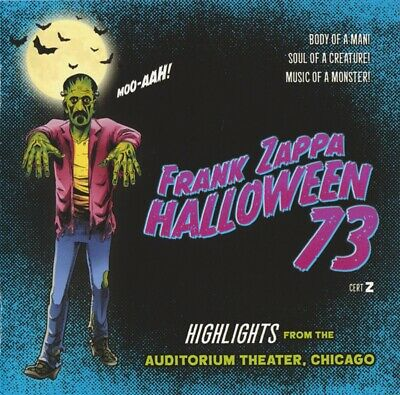 Frank Zappa - Halloween 73 - Highlights - New CD Album