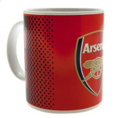 Arsenal FC Official Crested 11oz Fade Mug Present Gift The Gunners