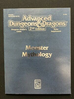 Advanced Dungeons & Dragons 2nd Edition Monster Mythology 2128 - Unused