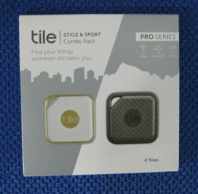 Tile Pro Series Item Trackers Style and Sport Combo Pack ** 4 Tiles ** NEW