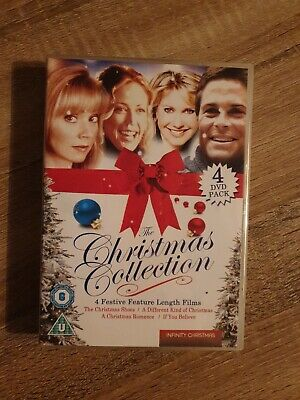 The Christmas Collection: 4 Festive Feature Lenghts Films (DVD, 4-Disc Set)