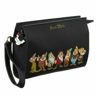 "Disney's Snow White & The Seven Dwarfs 8.5"" Wristlet/Purse With Metal Charm"