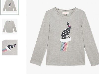 Girls top t shirt (rabbit) catimini