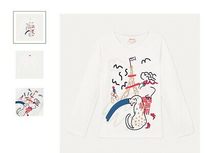 Girls top t shirt (paris) catimini