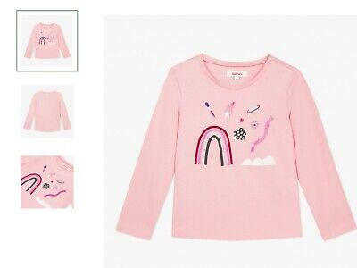 Girls top t shirt (powder pink) catimini