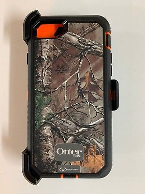 Otterbox Defender Series Case for iPhone 7 iPhone 8 w/Holster RealTree Xtra Camo