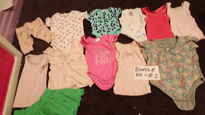 70 BABY GIRL CLOTHING ITEMS! Bundle no 2