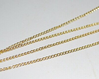 Findings - 3 x 2mm Gold Twisted Oval Link Chain - 1 Metre