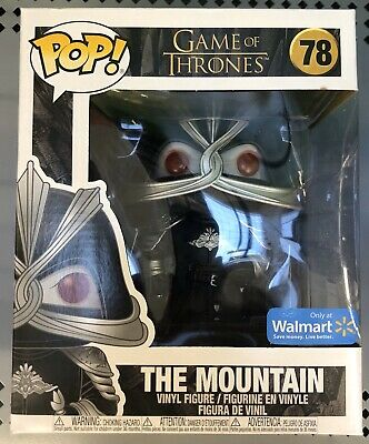 Funko Pop THE MOUNTAIN 78 WALMART Exclusive BOX NOT MINT Game Of Thrones