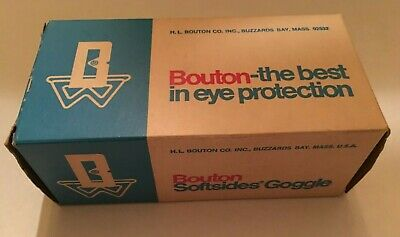 Vintage 50s/60s Bouton Softsides goggles