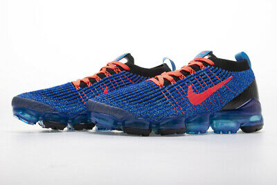 2019 Nike Air VaporMax Flyknit 3.0  Mens Running Shoes Sneakers, Blue