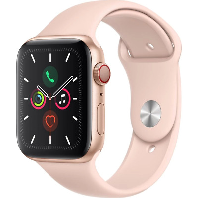 [Au Stock] Apple Watch Series 5 44Mm Gold Aluminum Case Gps+Cellcular With Gst T