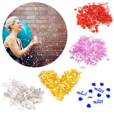 6 x or just married 14g Foil Confetti table scatter decorations pa