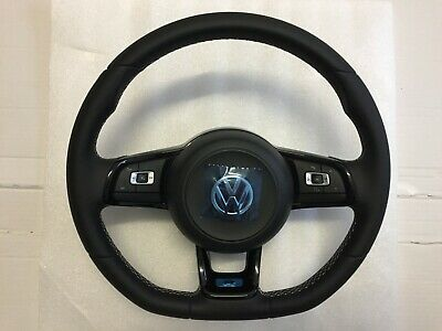 Vw Golf 7 R Line Leder Lenkrad Multifunktion Tasten Steering Wheel