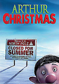 Arthur Christmas (Blu-ray, 2012) New Sealed With Ultraviolet Copy