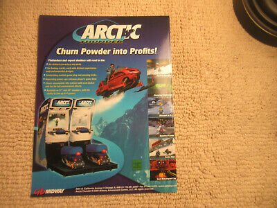 2000 MIDWAY ARCTIC THUNDER VIDEO FLYER