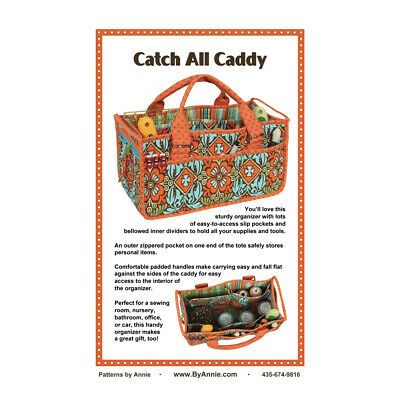 Quilting Sewing Patchwork By Annie CATCH ALL CADDY Pattern New