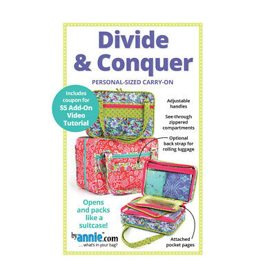 Quilting Sewing Patchwork By Annie DIVIDE AND CONQUER Pattern New