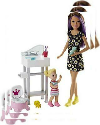 Barbie Skipper Babysitters Playset and Doll, with Toddler Doll...