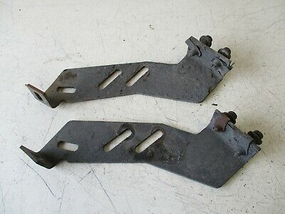 2012 International Prostar Oem Lh Lower Fuel Tank Step Mounting Bracket(Set-Of-2