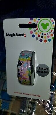 NEW Disney Parks 2019 It's A Small World Magic Band 2 LINK IT LATER
