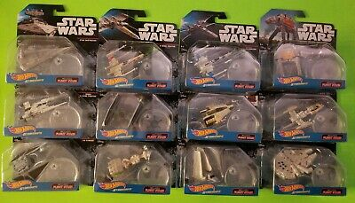Star Wars Hot Wheels Die-Cast Starships set of 12 - NEW/SEALED