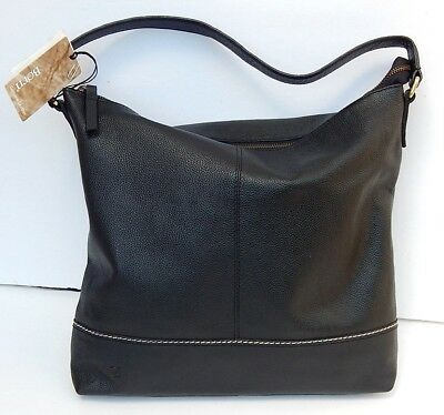 Born Black Genuine Leather Handbag Brand New With Tags Authentic New$238