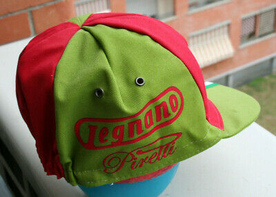 Made in Italy by Apis Legnano Vintage Team Cycling Cap