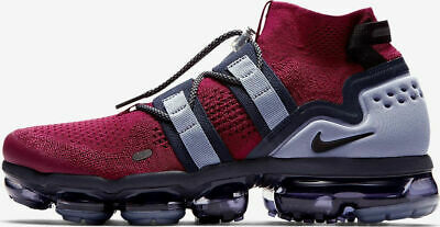 Nike Air Vapormax Utility Flyknit Team Red Black Obsidian AH6834-600