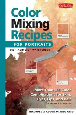 Walter Foster Color Mixing Recipes For Portraits More Than 500 Color Combination