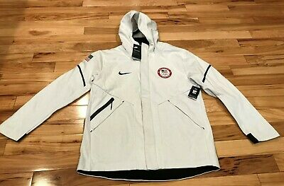 NIKE TEAM USA Olympic Tech Fleece Hoodie Jacket 909530 100