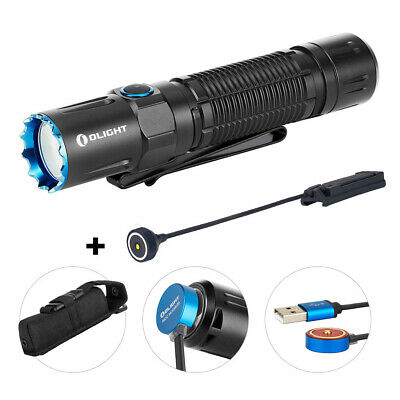 OLIGHT M2R PRO Warrior 1800 Lumen Rechargeable Tactical Flashlight+Remote Switch