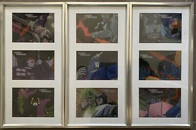 Transformers Animation Cel Collection, Framed.
