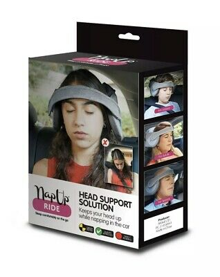 Napup Ride - Head support for adults and juniors whilst napping in the car