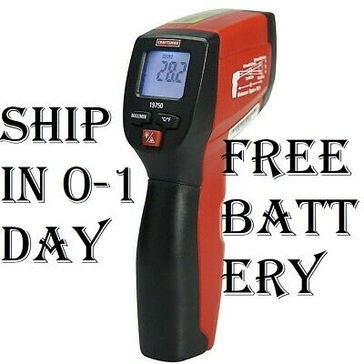 New Craftsman Infrared Thermometer Dual Laser Pointers Non Touch IR no contact