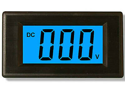 Blue LCD Volt Meter Gauge DC 18.0V-70.0V For 24V 48V Power 18~70V DC