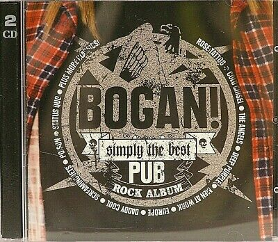 BOGAN Simply The Best Pub Rock Album LIKE NEW  2CD 2005 Boston Cold Chisel Toto