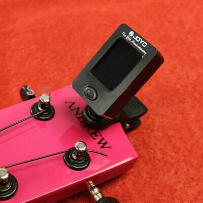 Clip On Chromatic Tuner Guitar Bass Banjo Ukulele Violin OUD Tuner JOYO NEW gP