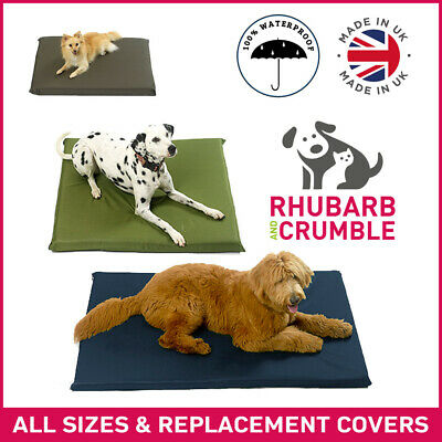 Dog Mat Bed Mattress Chew Resistant Waterproof Crate Washable Replacement Covers