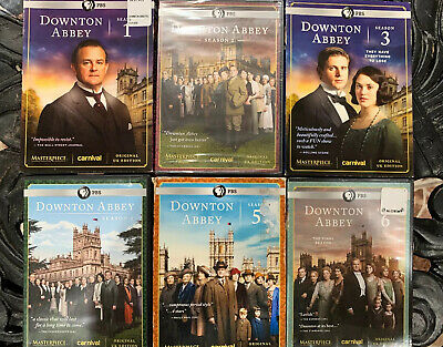Masterpiece Classic Downton Abbey Seasons 1-6 Complete Series Collection Orig...