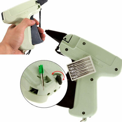 UK Quality Tagging Gun +5 Steel Needle +1000 Kimble Tag Price Label System Barbs