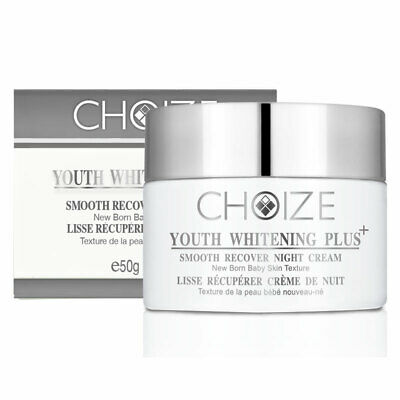 CHOIZE Youth Whitening Plus+ Smooth Recover Night Cream 50g