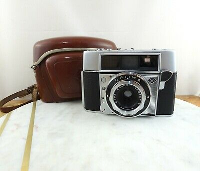 Vintage Agfa Optima 35mm Rangefinder Camera with Case